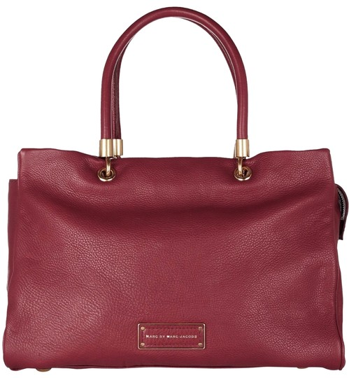 Preload https://img-static.tradesy.com/item/26297800/marc-by-marc-jacobs-too-hot-to-handle-burgundy-leather-tote-0-1-540-540.jpg