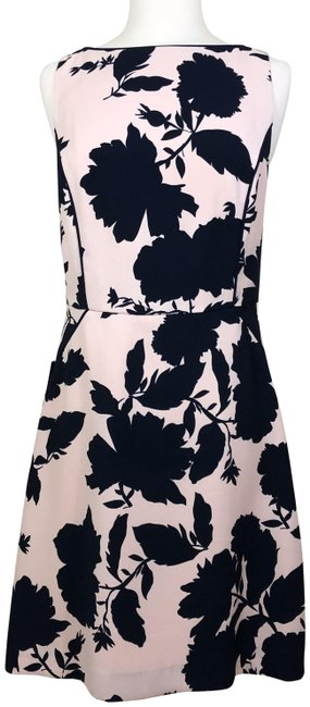 Preload https://img-static.tradesy.com/item/26297802/the-limited-blush-floral-lined-sheath-navy-mid-length-workoffice-dress-size-4-s-0-1-650-650.jpg
