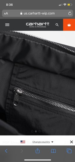 Carhartt Sporty Overnight Travel Tote in black Image 3