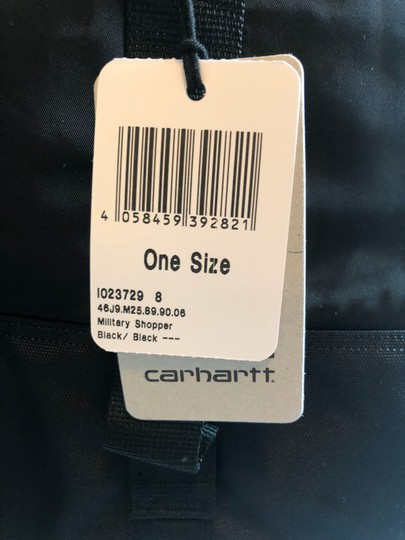 Carhartt Sporty Overnight Travel Tote in black Image 7