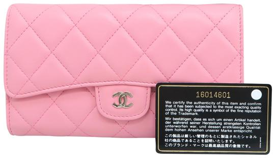 Preload https://img-static.tradesy.com/item/26297835/chanel-pink-lambskin-quilted-trifold-wallet-0-1-540-540.jpg