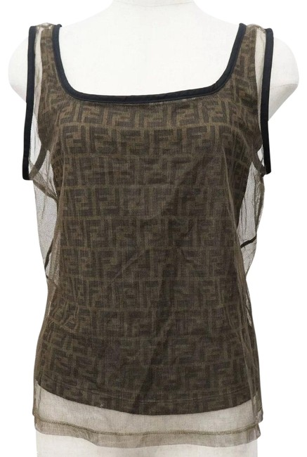 Preload https://img-static.tradesy.com/item/26297848/fendi-zucca-monogram-with-mesh-overlay-tee-shirt-size-4-s-0-1-650-650.jpg