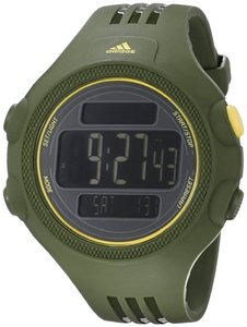 adidas ADP6122 Male Sports Watch Dark Green Digital