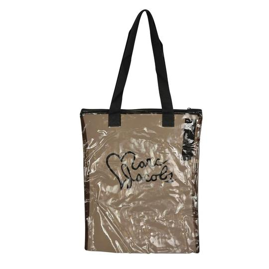 Marc by Marc Jacobs Clear Acrylic Shopper Tote in Black Image 2