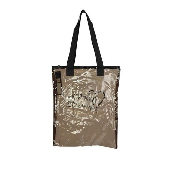 Marc by Marc Jacobs Clear Acrylic Shopper Tote in Black Image 3
