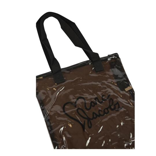 Marc by Marc Jacobs Clear Acrylic Shopper Tote in Black Image 4