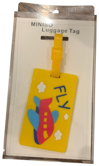 None New in box cute yellow luggage tag Image 0