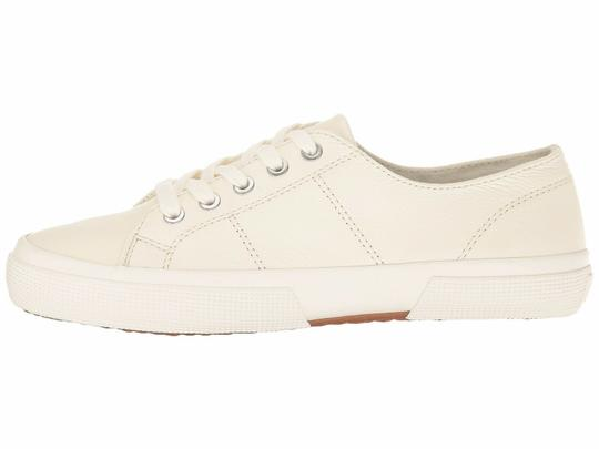 Polo Ralph Lauren Jolie Leather Women's Sneakers Lace- Up White Athletic Image 4