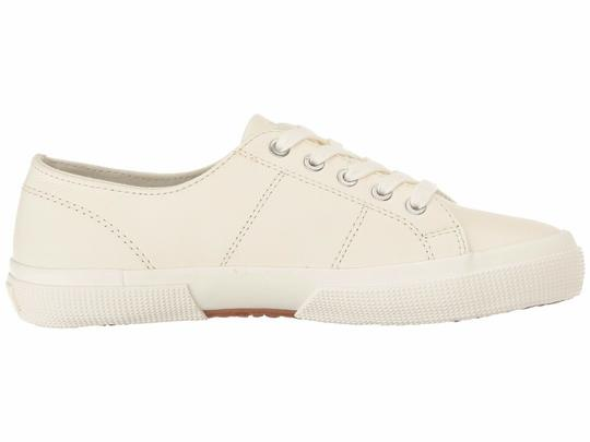 Polo Ralph Lauren Jolie Leather Women's Sneakers Lace- Up White Athletic Image 6