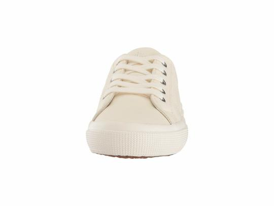 Polo Ralph Lauren Jolie Leather Women's Sneakers Lace- Up White Athletic Image 7