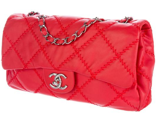 Chanel Ultimate Stitch Wild Stitch Classic Flap Crossbody Woc Shoulder Bag Image 1