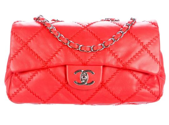 Chanel Ultimate Stitch Wild Stitch Classic Flap Crossbody Woc Shoulder Bag Image 2
