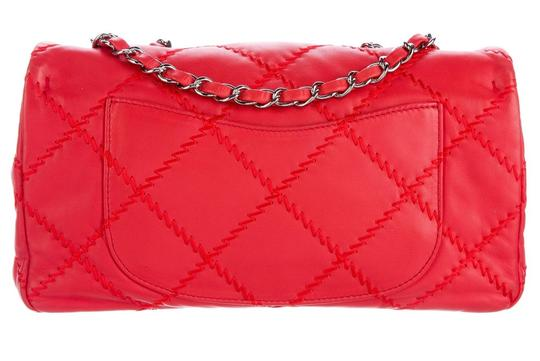 Chanel Ultimate Stitch Wild Stitch Classic Flap Crossbody Woc Shoulder Bag Image 3