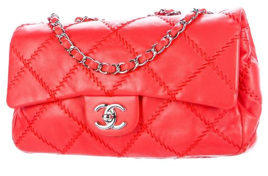 Chanel Ultimate Stitch Wild Stitch Classic Flap Crossbody Woc Shoulder Bag Image 4
