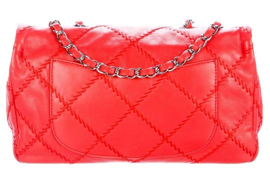 Chanel Ultimate Stitch Wild Stitch Classic Flap Crossbody Woc Shoulder Bag Image 5