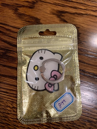 Sanrio New hello kitty cell phone ringer grip stand holder Image 2