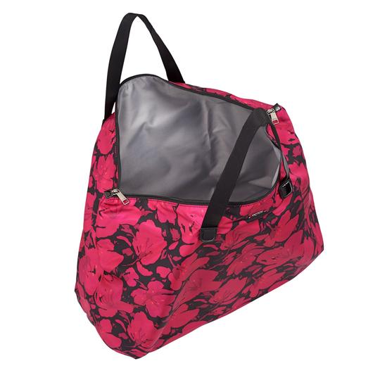 Tumi Lightweight Packable Duffel Just In Case Magenta Travel Bag Image 11