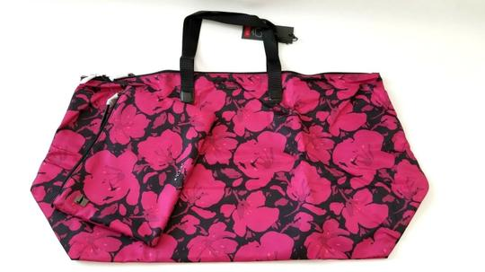 Tumi Lightweight Packable Duffel Just In Case Magenta Travel Bag Image 3