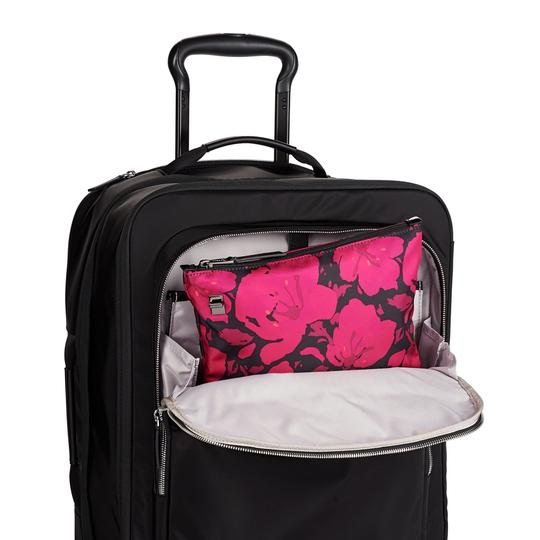Tumi Lightweight Packable Duffel Just In Case Magenta Travel Bag Image 6