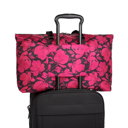 Tumi Lightweight Packable Duffel Just In Case Magenta Travel Bag Image 7