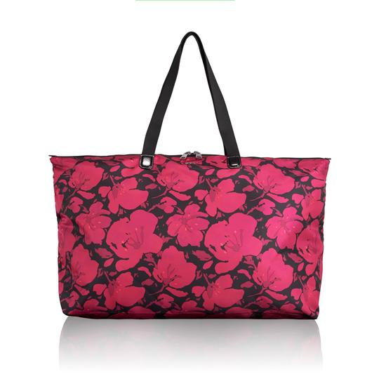 Tumi Lightweight Packable Duffel Just In Case Magenta Travel Bag Image 9