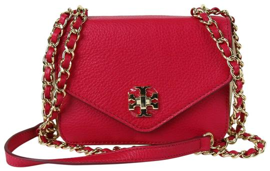 Preload https://img-static.tradesy.com/item/26298108/tory-burch-clutch-kira-pinkgold-mini-chain-women-s-hot-pink-leather-cross-body-bag-0-1-540-540.jpg