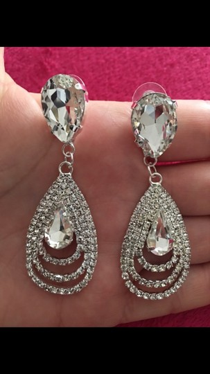 Silver Earrings Image 1