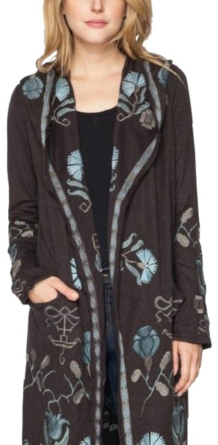 Preload https://img-static.tradesy.com/item/26298119/johnny-was-brown-multicolor-biya-patrice-embroidery-ponchocape-size-14-l-0-1-650-650.jpg