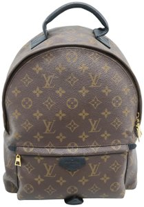 Louis Vuitton Lv Palm Springs Mm Monogram Backpack