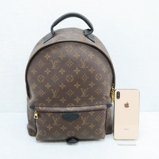 Louis Vuitton Lv Palm Springs Mm Monogram Backpack Image 1