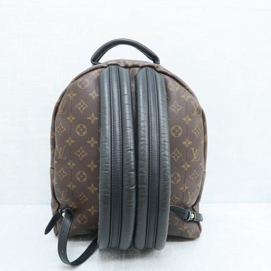 Louis Vuitton Lv Palm Springs Mm Monogram Backpack Image 2