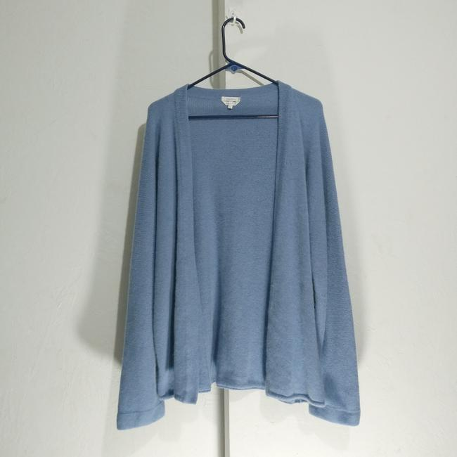 Preload https://item2.tradesy.com/images/max-mara-blue-open-front-wool-blend-ponchocape-size-16-xl-plus-0x-26298151-0-1.jpg?width=400&height=650