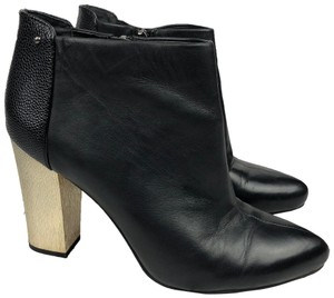 Sam Edelman Black, Gold Boots