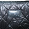 Chanel Quilted Pouch Lambskin Black Clutch Image 10