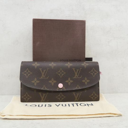 Louis Vuitton Brown Emilie Monogram Canvas Wallet Image 1