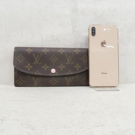 Louis Vuitton Brown Emilie Monogram Canvas Wallet Image 2