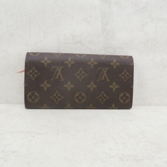 Louis Vuitton Brown Emilie Monogram Canvas Wallet Image 3