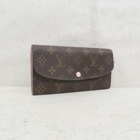 Louis Vuitton Brown Emilie Monogram Canvas Wallet Image 4
