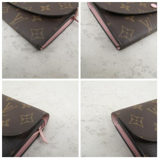 Louis Vuitton Brown Emilie Monogram Canvas Wallet Image 6