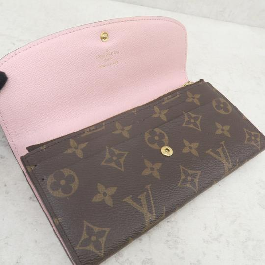 Louis Vuitton Brown Emilie Monogram Canvas Wallet Image 8