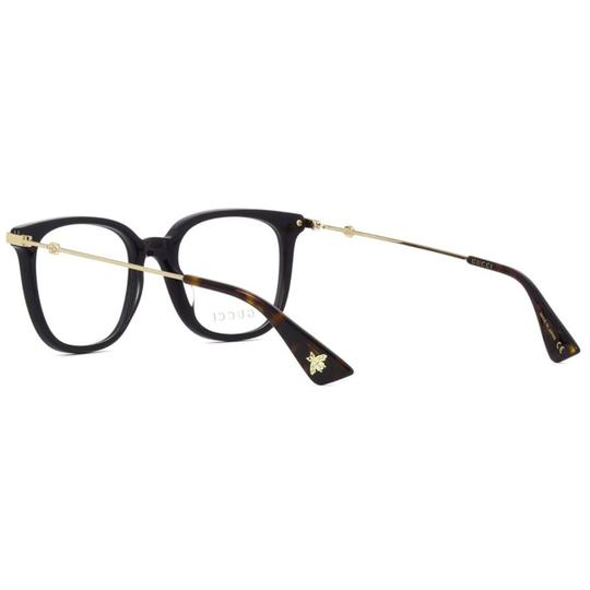 Gucci New Urban Gg0110o-001 Black/Gold Transparent Sunglasses Image 2