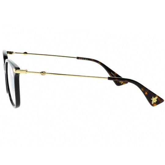 Gucci New Urban Gg0110o-001 Black/Gold Transparent Sunglasses Image 5