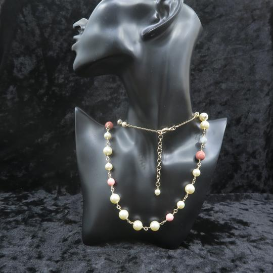 Chanel Faux Pearl and Enamel Cc Necklace Image 11