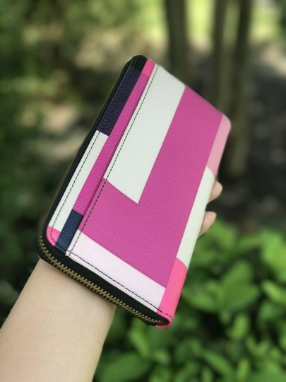 Kate Spade Kate Spade Wallet NEDA COLORBLOCK PARTY Brightwater Drive Color Image 1