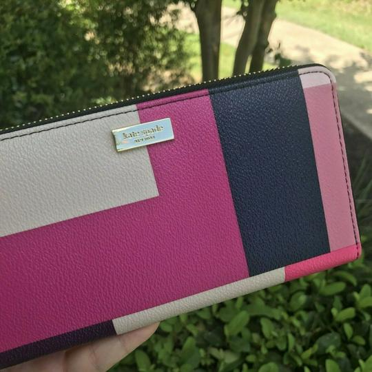 Kate Spade Kate Spade Wallet NEDA COLORBLOCK PARTY Brightwater Drive Color Image 2