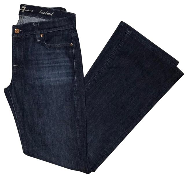 Preload https://img-static.tradesy.com/item/26298313/7-for-all-mankind-dark-blue-wash-rinse-037790-boot-cut-jeans-size-4-s-27-0-2-650-650.jpg