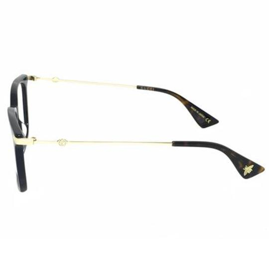 Gucci New Urban Gg0110o-005 Blue/Gold Transparent Sunglasses Image 1