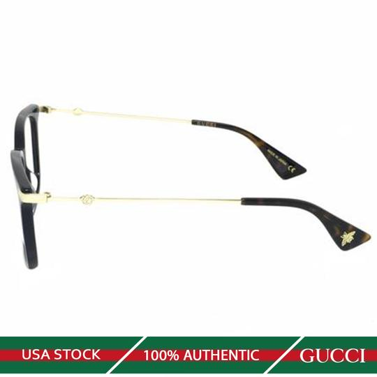 Gucci New Urban Gg0110o-005 Blue/Gold Transparent Sunglasses Image 3