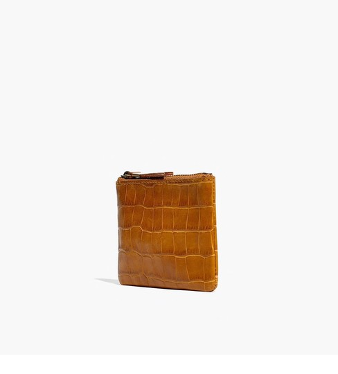 Madewell madewell the leather pouch wallet Image 3