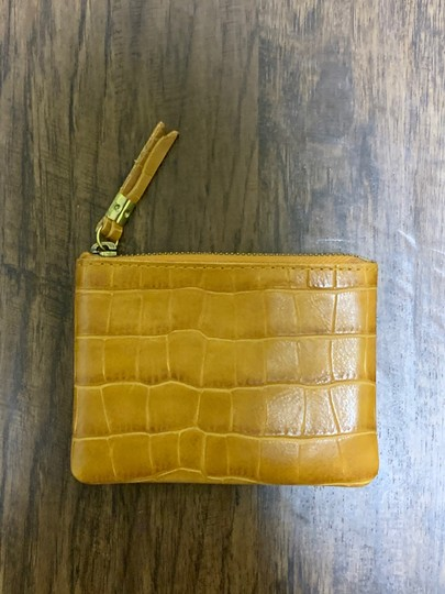 Madewell madewell the leather pouch wallet Image 7